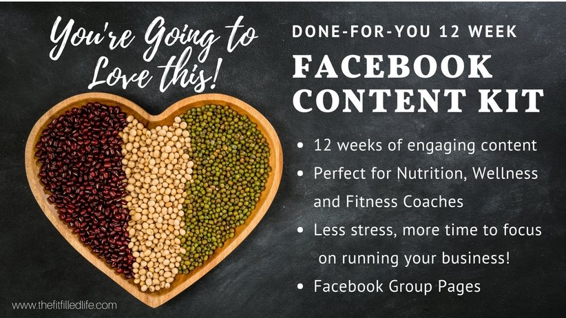 Done-for-You 12 Week Facebook Content
