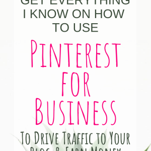 Are you ready for the best comprehensive Pinterest Training Course available? Learn how to use Pinterest for business to grow your traffic, grow your list and grow you income! #PinterestTips #PinterestforBusiness