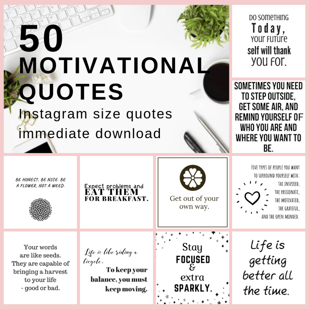 50 motivational quotes