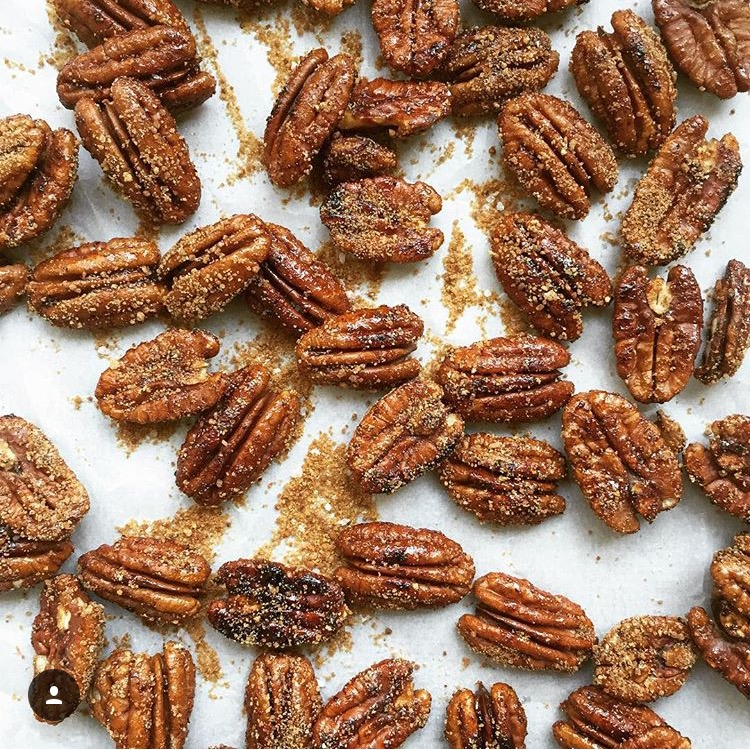 one-pan-3-ingredient-spicy-candied-pecans-gf-df-refined-sugar-free