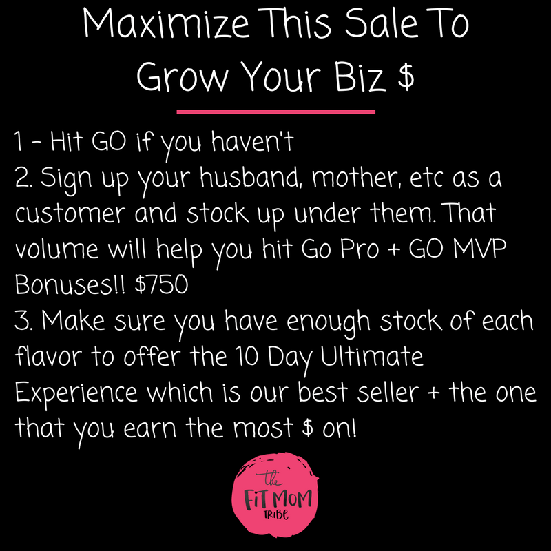 maximize this sale to grow your business