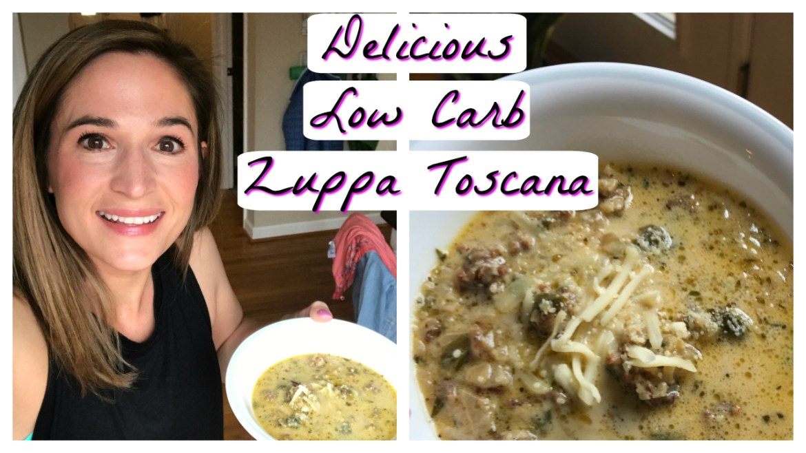 Delicious Low Carb Zuppa Toscana