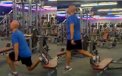 Bulgarian-Jump-Squats