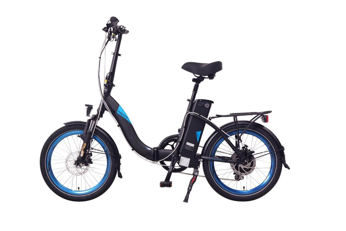 Magnum Classic Low Step Electric Bike Black At The