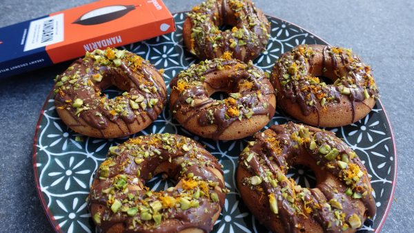 Orange & Pistachio Donuts (Vegan and Grain Free) The Fitness Maverick