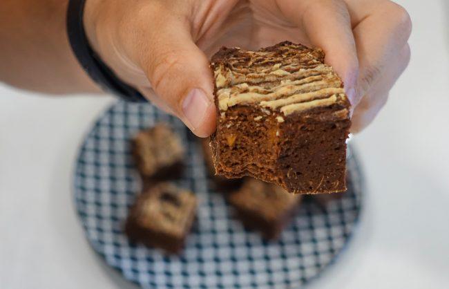 100 Calorie Sweet Potato Brownies The Fitness Maverick