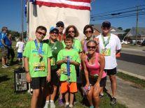 Family Photo 2013, Deltaville 5k