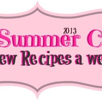 BRITTANY'S SUMMER CHALLENGE: 2 NEW RECIPES A WEEK!