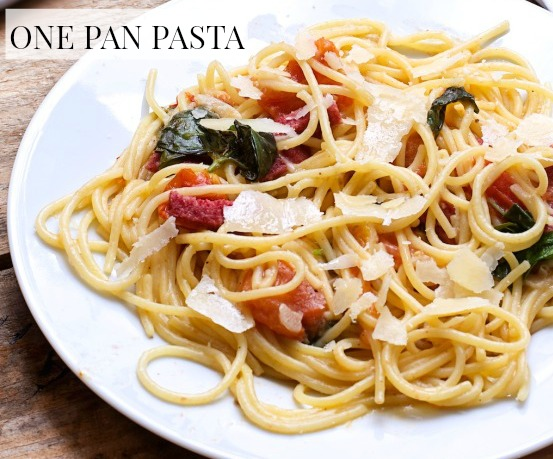 One Pan Pasta Recipe