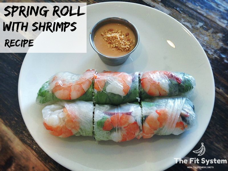 Spring Rolls with Shrimps
