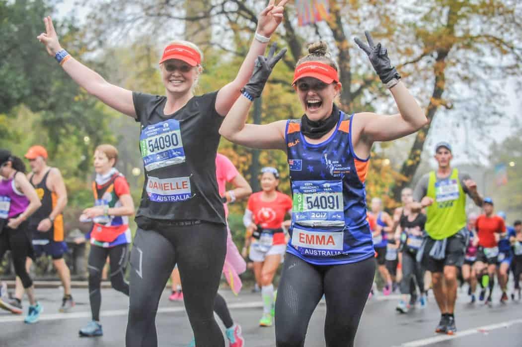 Drawing Marathon Finish Line