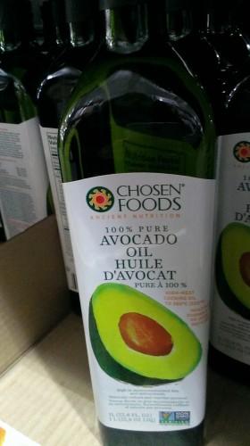 Avocado oil! What a huge bottle...