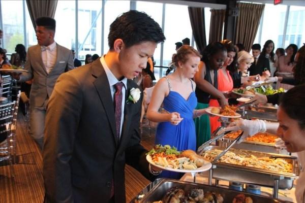 prom food