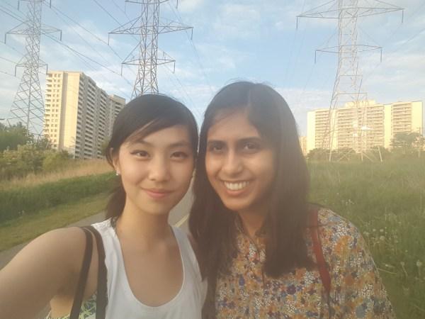 wardah and I
