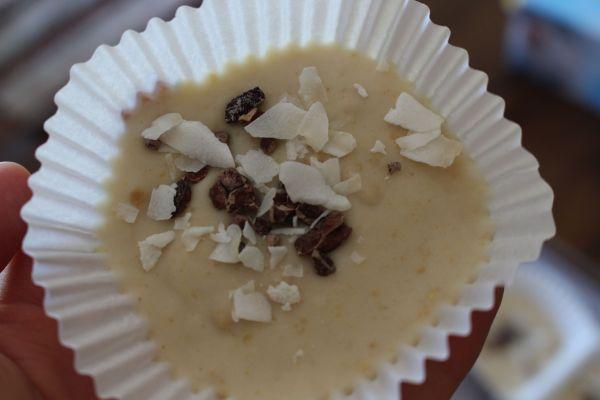 Frozen Coconut Mochi