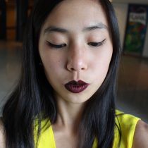 motives makeup dark side lipstick