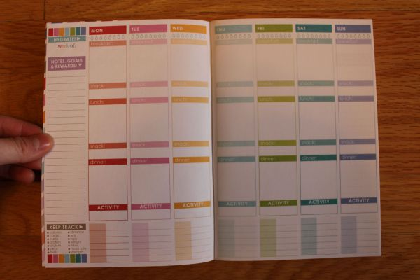 planner, journal
