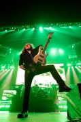 David Ellefson performs with Megadeth at the Matthew Knight Arena in Eugene, OR. Photo by Keith Lancaster.