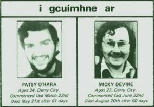 Patsy O'Hara e Micky Devine