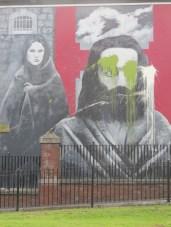 "Derry - ""Hunger strikers"" by Bogside Artist"