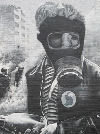 "Derry - ""Battle of Bogside"" by Bogside Artist"