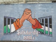 "Belfast - ""Irish and Palestinian P.O.W.S."""