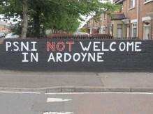 Belfast - Avviso alla polizia Nord Irlandese