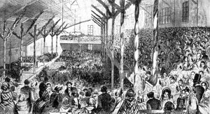 The 1860 Republican Convention, which nominated Abraham Lincoln on the third ballot