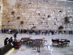 The Wailing Wall.  How long, oh Lord?
