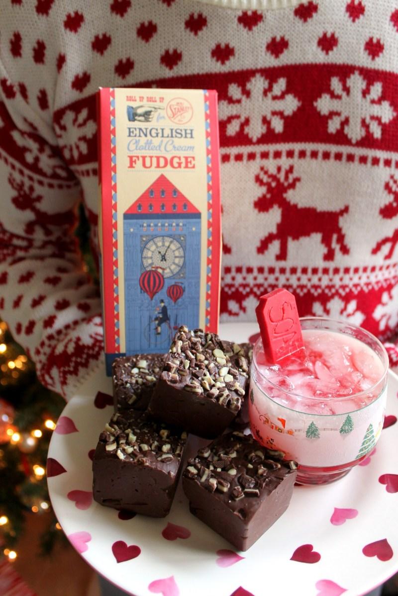 MIAM ! | Dark Chocolate-Peppermint Fudge