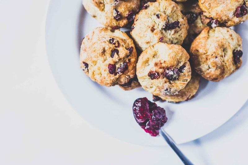 Recipe: Christmas Cranberry Scones