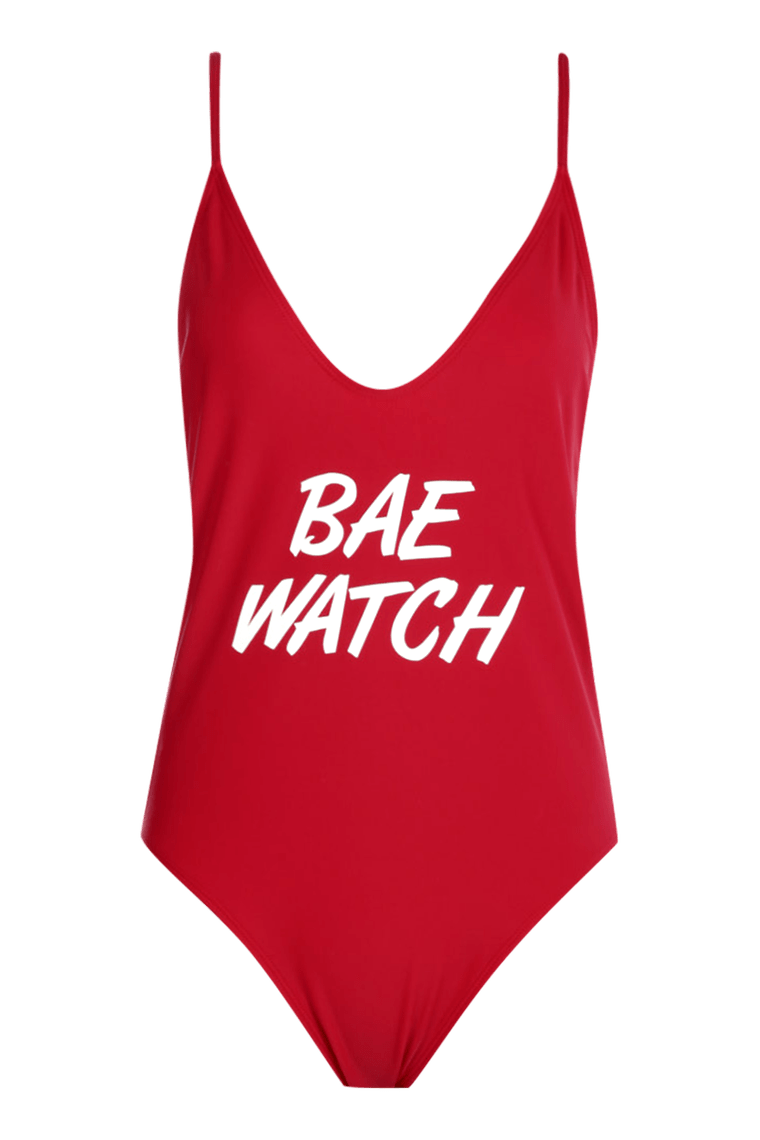 Catalina Bae Watch Swimsuit >