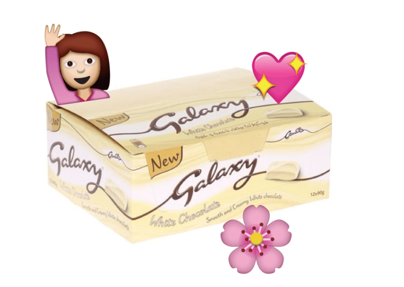 White Chocolate Galaxy Is Now A Thing And Were Excited