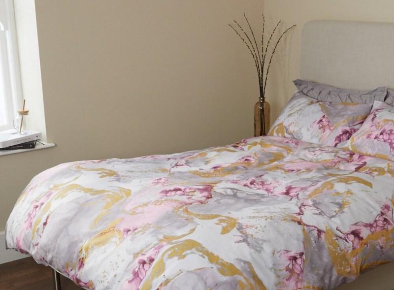 Home Décor Marble Print Bedding