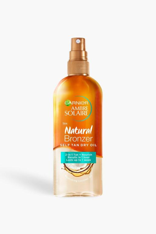 garnier self tan oil