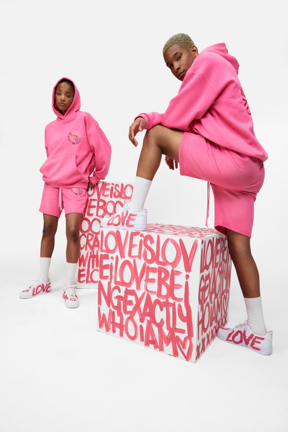 co-ord with Love is Love messaging