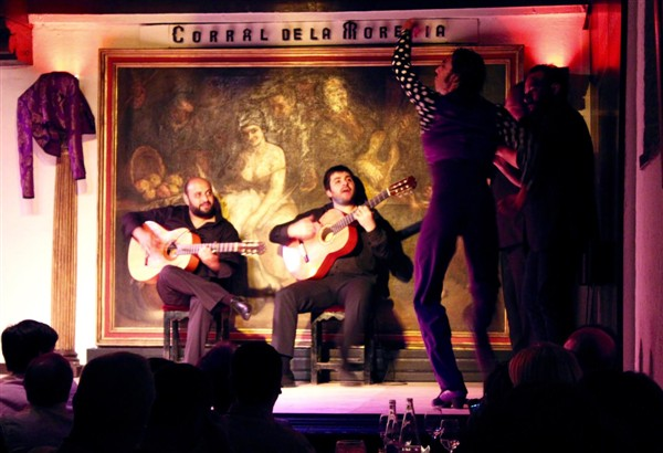 Best flamenco show in Madrid - Corral de la Morería flamenco tablao