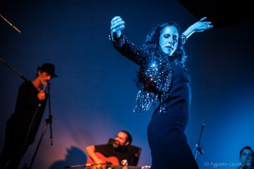 Flamenco dancer Sara Nieto performing