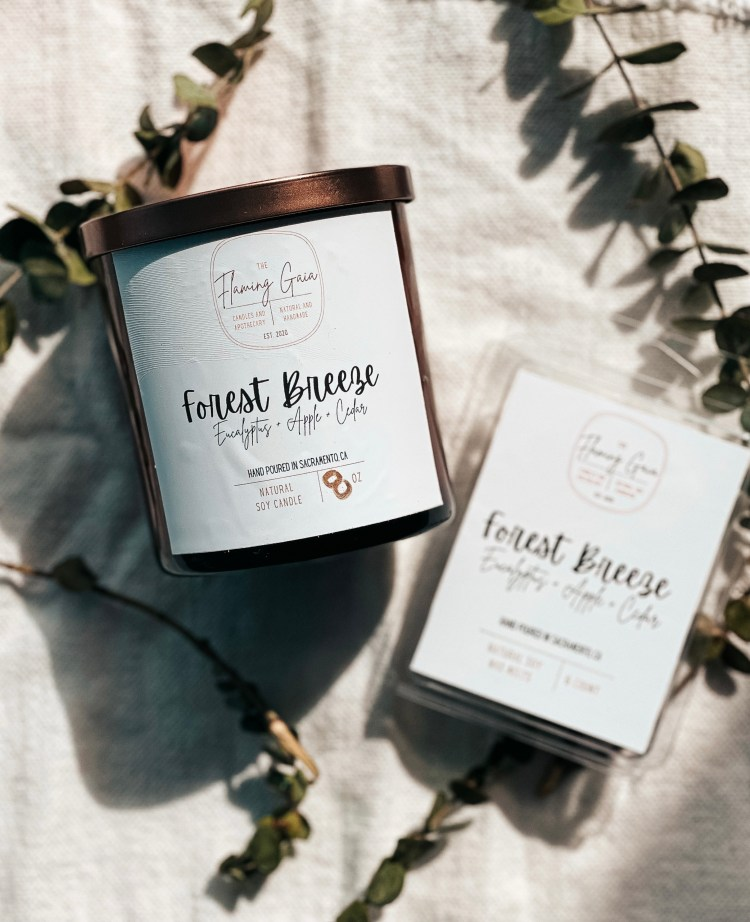 forest breeze candle