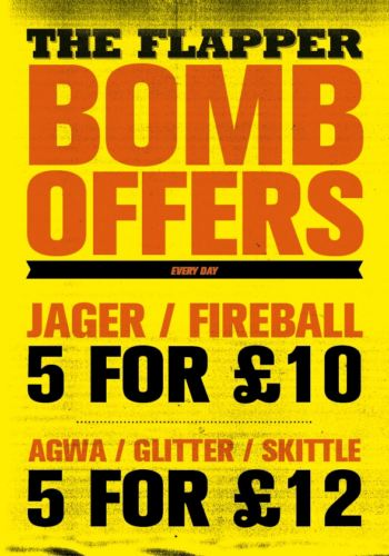 Flapper Bombs Offer