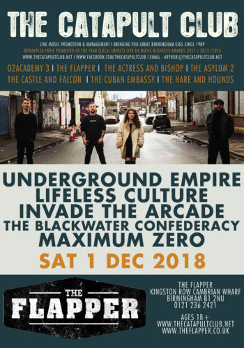 Underground Empire + Lifeless Culture + Invade The Arcade + The Blackwater Confederacy + Maximum Zero