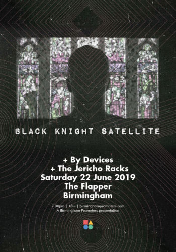 BLACK KNIGHT SATELLITE + BY DEVICES + THE JERICHO RACKS