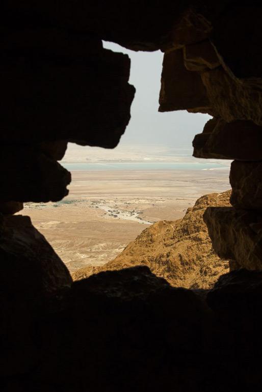 The Dead Sea from Masada Israel