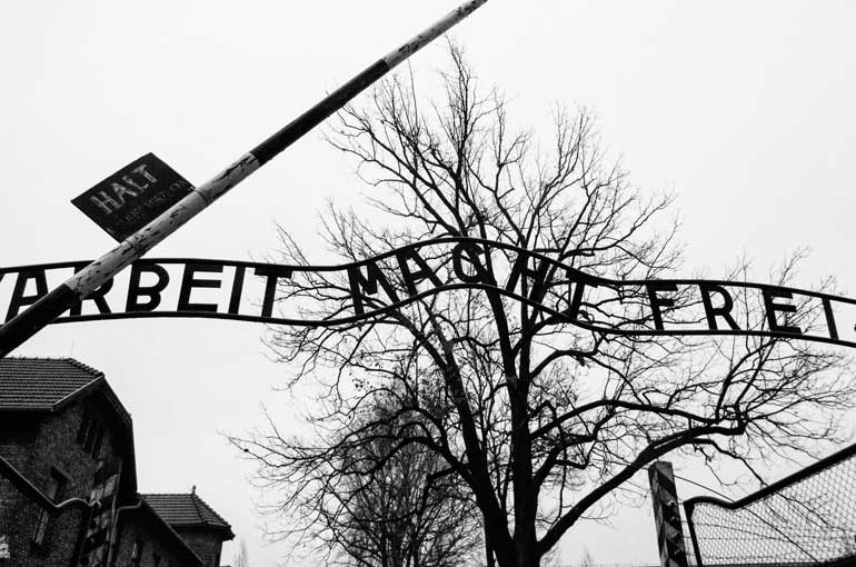 Arbeit Macht Frei: Work will set you free - Auschwitz I