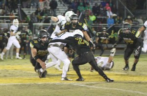 Dublin's swarming defense has helped the Lions to the playoffs for the first time since 2004. || Photo by BRAD KEITH