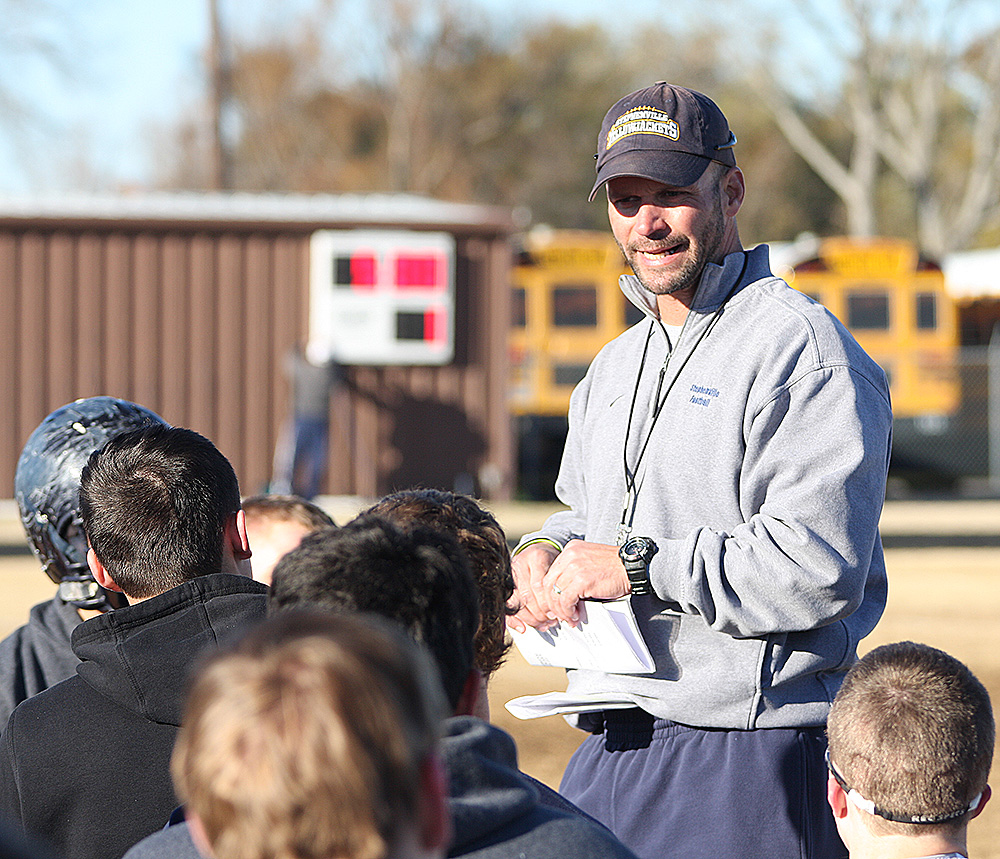 Stephenville head coach Joe Gillespie is leaving for the University of Tulsa.