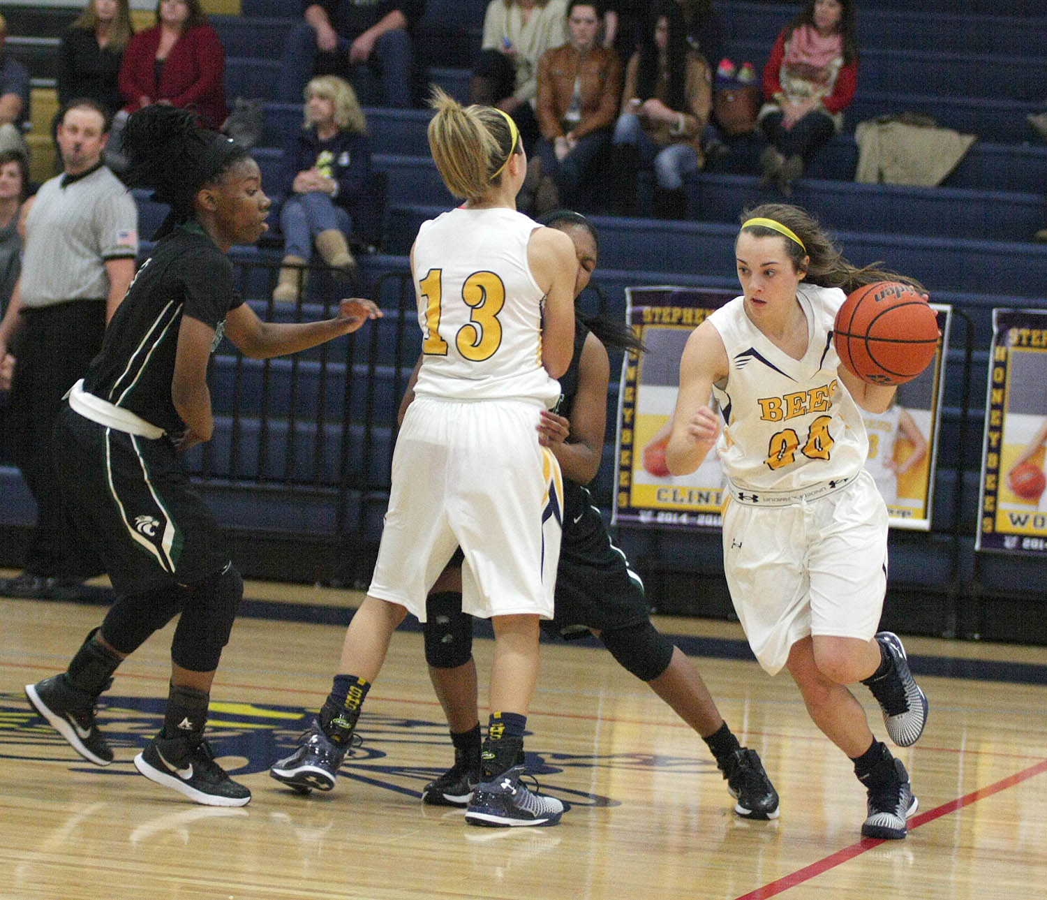 Stephenville and senior guard Cassidy Cline host Springtown Friday and Robinson Tuesday. || Photo by BRAD KEITH
