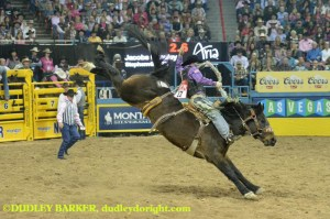 Jacobs Crawley, Wrangler National Finals Rodeo, Round 5, Monday, December 9, 2014 || Photo by DUDLEY BARKER, dudleydoright.com