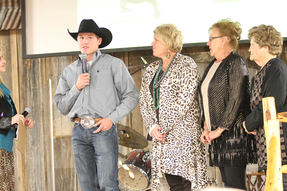 The Stephenville Chamber of Commerce and Cowboy Capital Pro Rodeo Association held a National Finals Rodeo Welcome Home Celebration at Cowboy Church of Erath County Thursday night.