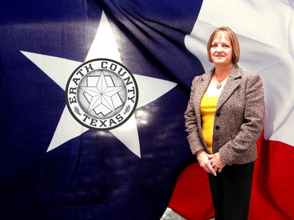 Erath County District Clerk Wanda Pringle